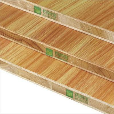 中国10大板材品牌百的宝E0级杉木芯生态板衣柜板材金城千里