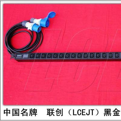LCEJT黑金刚30位32A加长电流表PDU机柜插座