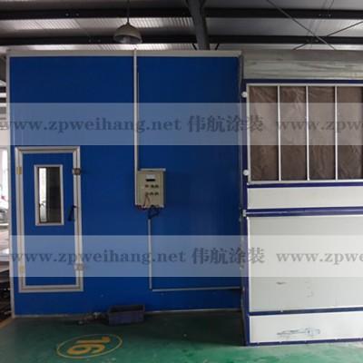 伟航汽车打磨房WH-001汽车连体房电加热环保设备