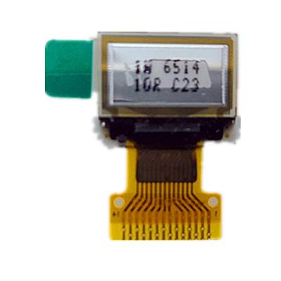 0.49寸OLED显示屏专业厂家直供蓝屏/白屏质保2年