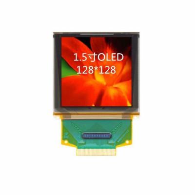1.5寸OLED显示屏全彩显示屏厂家研发生产质保2年