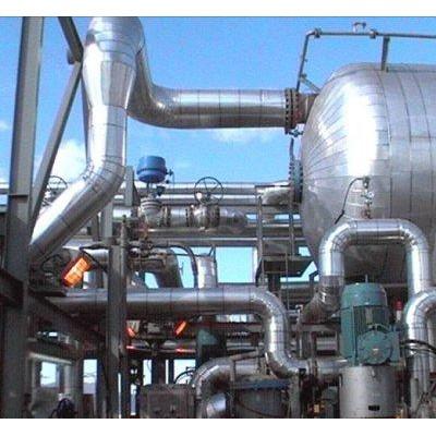 石油罐体岩棉彩钢板施工队管道橡塑保温安装