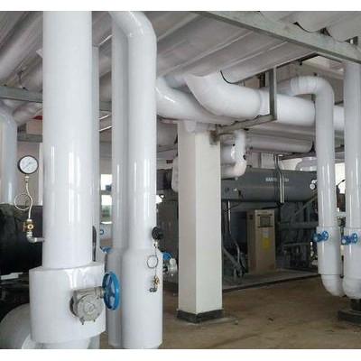 工业设备管道保温施工方法不锈钢罐体岩棉保温