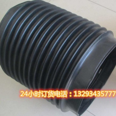 液压油缸伸缩式防护罩 液压油缸伸缩式帆布防尘罩