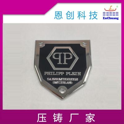 标牌铭牌锌合金压铸产品精密五金压铸件恩创厂家加工定制