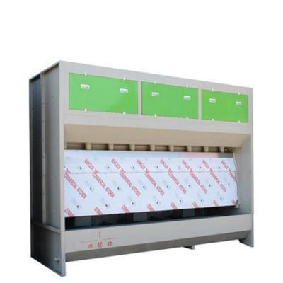 山东干式打磨吸尘柜环保型无泵水幕水帘柜汽车烤漆房专业制造商