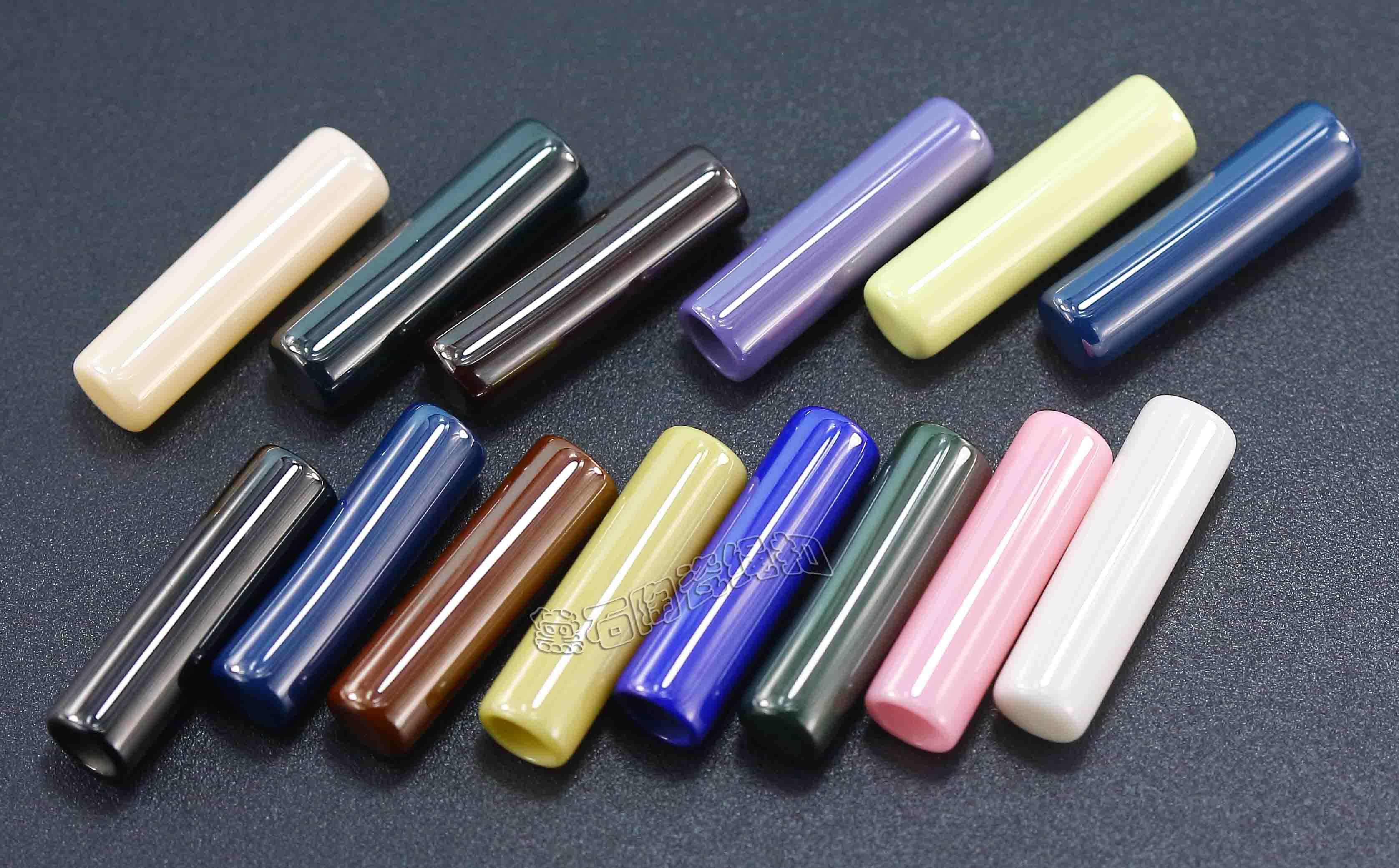 汤斯敦箱包服装配饰陶瓷绳扣 吊钟 吊粒止绳扣厂家配件专业生产
