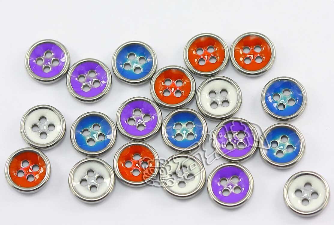 黛石金属纽扣 可镶彩树脂新时尚服饰配件 可批发零售生产