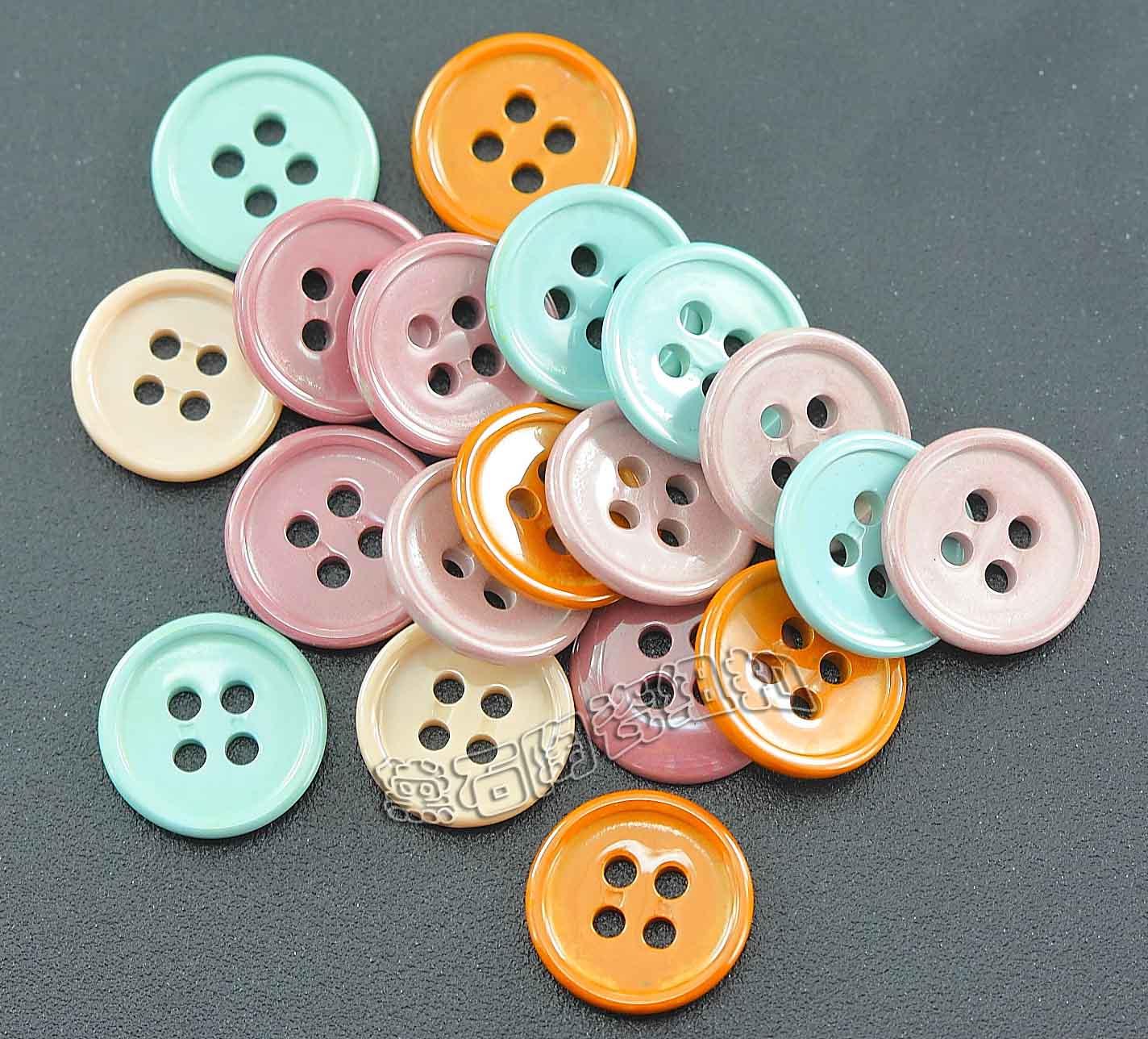 黛石 优质全陶瓷服饰纽扣厂家 衬衫纽扣多颜色选择