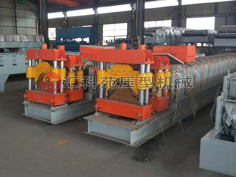 汇科苑供应全自动彩钢屋脊瓦压型设备