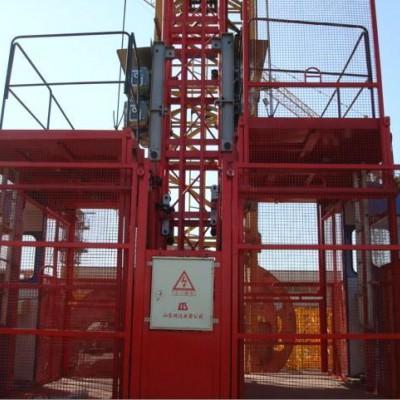 供应鸿达施工升降机,施工电梯(单笼、双笼,1T,2T)