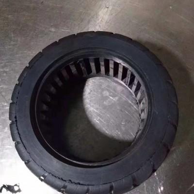小米M365轮胎8 1/2X2镂空实心胎8.5寸免充气避震胎