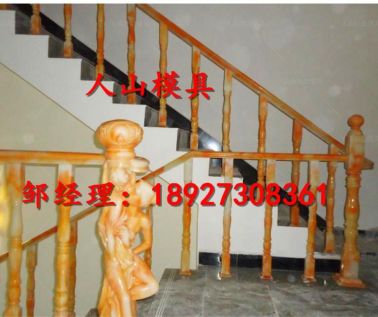 供应阳台柱硅胶模具 别墅汉白玉阳台柱硅胶模具