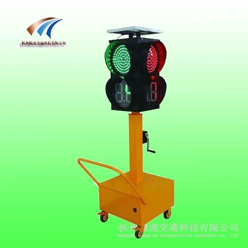 学校专用应急红绿灯 太阳能倒计时信号灯价格