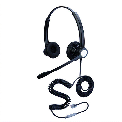 hoRme合镁301D头戴式话务耳机客服耳机