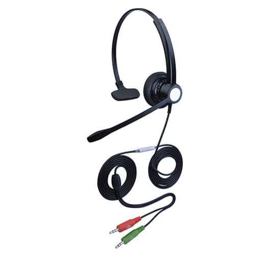 降噪耳机hoRme合镁301P客服头戴式话务耳机