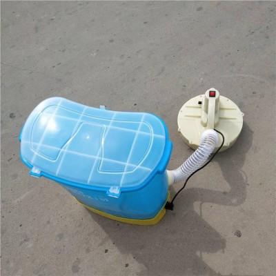 背负式调速电动撒肥机  电动施肥器背负式撒肥机