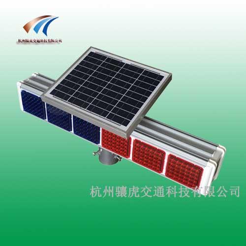 忻州交通警示灯 太阳能六灯爆闪灯价格