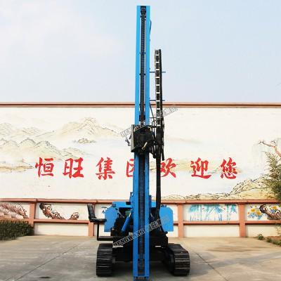 太阳能工程光伏打桩机热卖 6米液压锤电动打桩机热卖