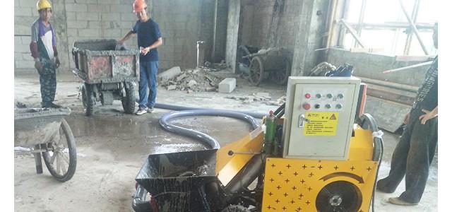 二次构造柱泵中涛机械的清洁工作-不能忽视