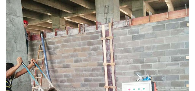 二次构造柱泵国旺机械内控式顺序-注意压力的调整