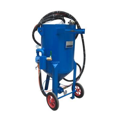 车架翻新除锈专用除锈喷砂机焊接件去氧化皮移动喷砂机