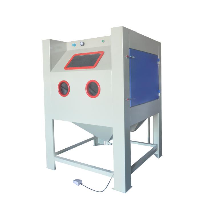 1212手动干式喷砂机焊接工件表面处理打沙机环保喷砂机