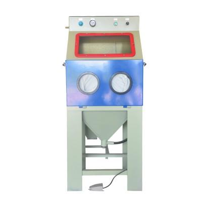 6050中山喷砂机箱式手动喷砂机去毛刺干式手动喷砂机