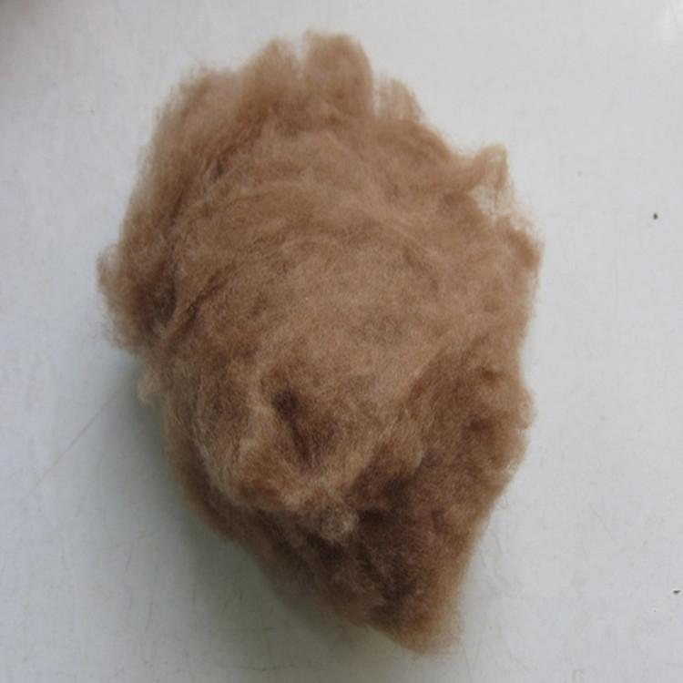 现货供应驼绒原料 丝光驼绒 免费拿样品 包邮