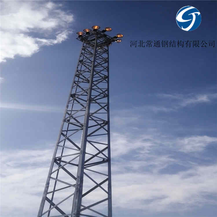 铁路照明用升降式投光灯塔结构特点