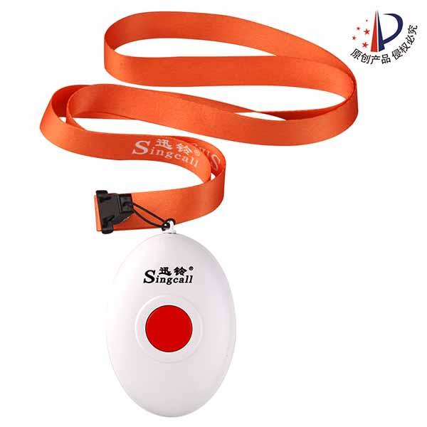 迅铃APE160带挂绳呼叫器 老人用呼叫器/独居老人呼叫器