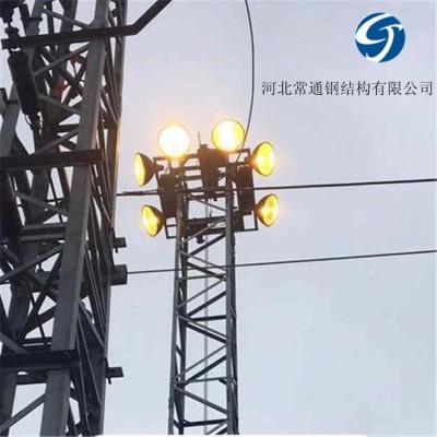 城市广场照明用21.5米升降式投光灯塔价格