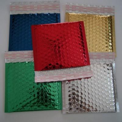广东银色/金色/红色/黑色/绿色/蓝色复铝膜汽泡信封袋