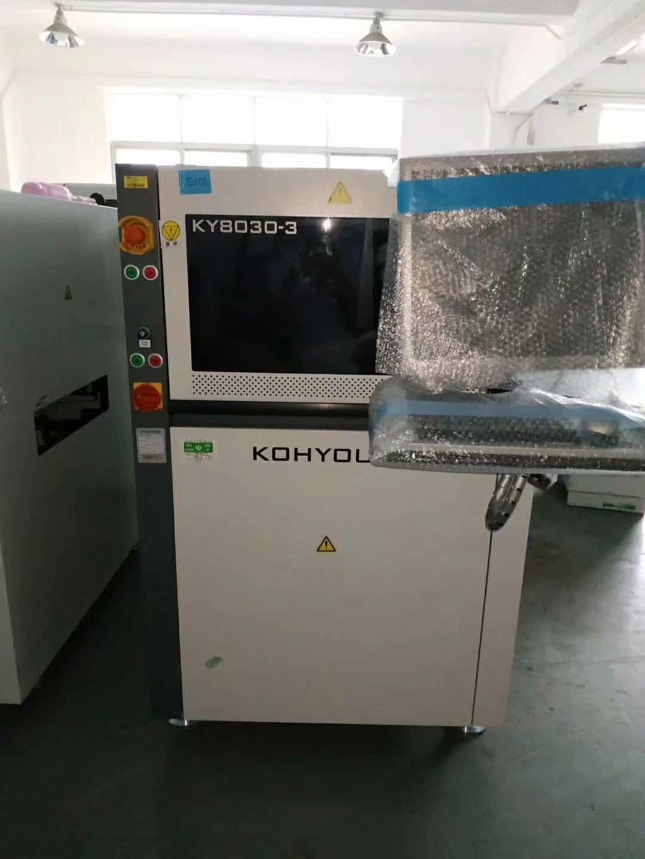 租赁科样在线3DSPI锡膏厚度检测机KY-8030-3