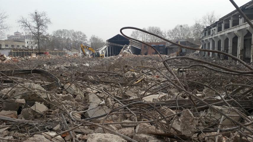 南通工厂拆除建筑拆除大型室内拆除