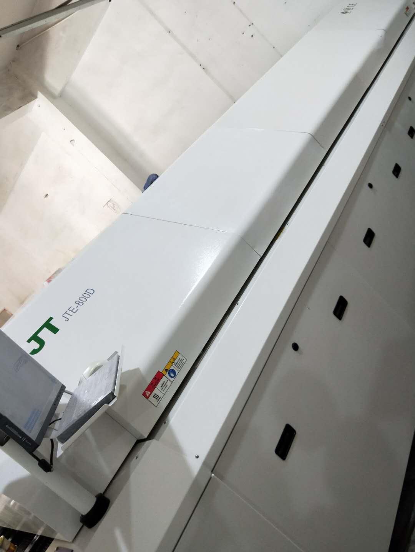 劲拓二手双轨八温区回流焊JTE-800D准新机配置