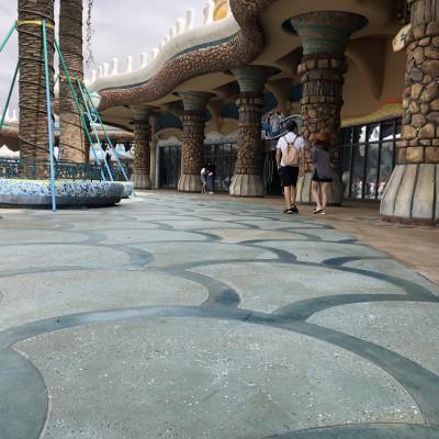 砾石聚合物混凝土地坪
