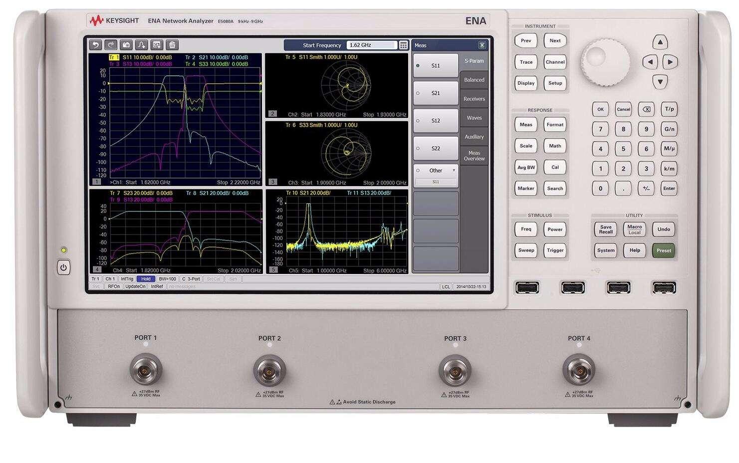 在线求购(安捷伦/是徳)E5080A ENA矢量网络分析仪