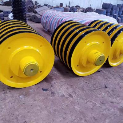 轧制起重机滑轮组 铸铁铸钢钢丝绳导向轮