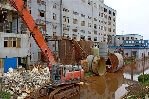 绍兴化工厂拆除资质化工设备拆除绍兴专业拆除公司
