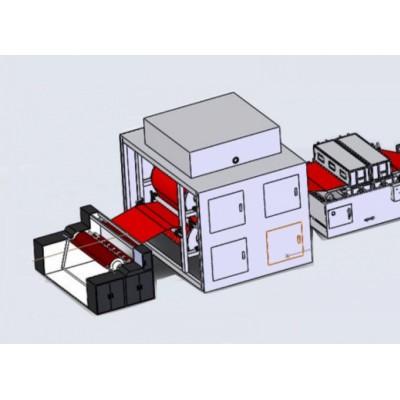 PP水驻极机械设备 水驻极熔喷布生产线设备