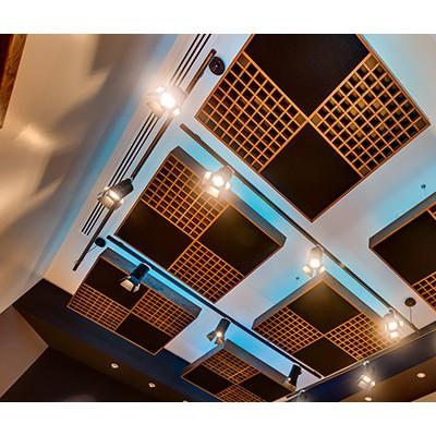 声学装修与灯光蓝箱建设