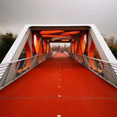 上海亨龙供陶瓷颗粒彩色自行车道