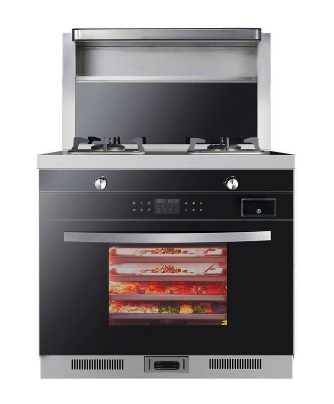 美炊集成灶蒸烤一体机电蒸烤箱智能预约