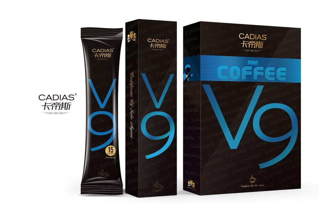 卡帝斯V9养生咖啡多少钱一盒?