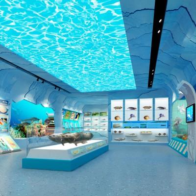 杞县科技展厅设计施工一体化 杞县图书馆设计