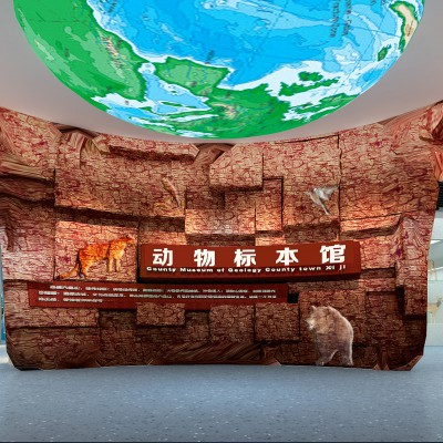 兰考数字展厅览馆   兰考党建文化宣传栏设计