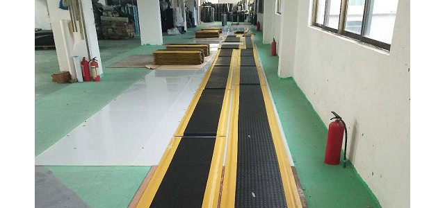 耐用舒适的工厂孤独时间站立垫工作线工厂