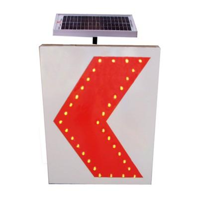 重庆太阳能标志牌led诱导标志交通安全设施