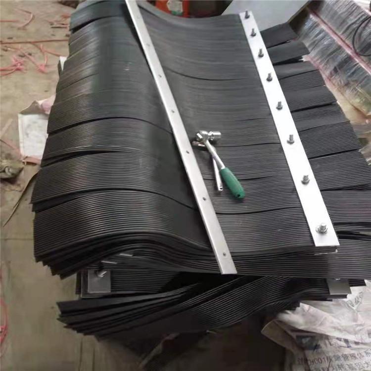 供应红色防尘帘 矿用挡尘防尘帘 加工生产橡塑制品